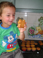 Een deeg, drie soorten cupcakes 7