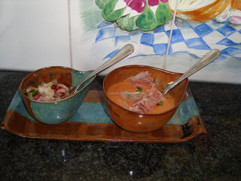 Gazpacho in de thermomix of in de blender 7
