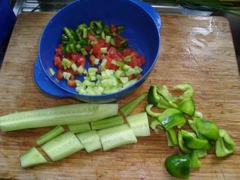 Gazpacho of koude tomaten-komkommersoep 2