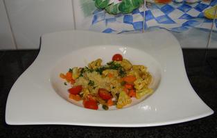 Gebakken kippenblokjes met quinoa 5