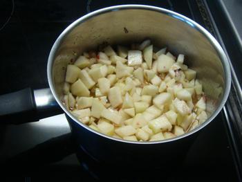 Gegrilde kramiek met paté en perenchutney 2