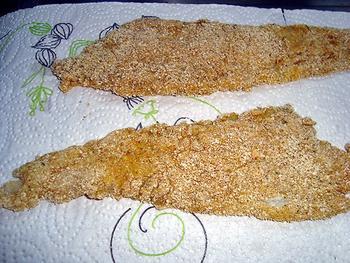 Gepaneerde pladijsfilets met preistamppot en mosterdsaus 2