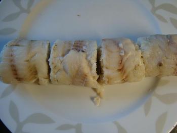 Gevulde wijtingrolletjes in kruidenkorst met witloof 7