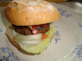 Hamburgerbroodje 6