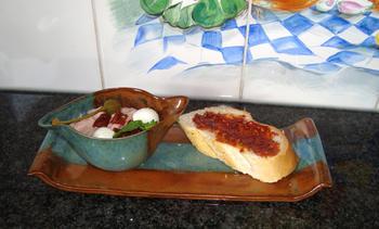Hammousse met mozzarella 8