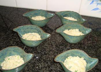Hapje met quinoa en scampi 5