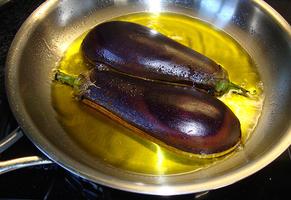 Imam bayildi of aubergine gevuld met gehakt 6