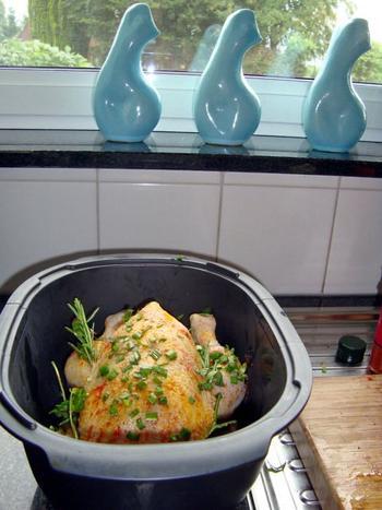 Kip in de oven met aardappelen 4