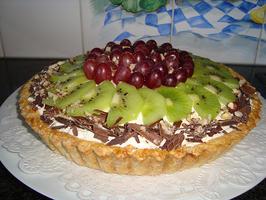 Mascarponetaart met fruit 10