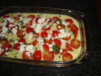 Ovenschotel met quinoa, ricotta en gerookte zalm 8