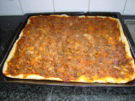 Pizza met zeevruchten 2