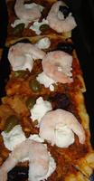 Pizza met zeevruchten 3