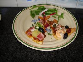 Pizza met zeevruchten 5
