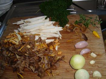 Romige bospaddenstoelensoep 8
