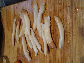 Scheermessen en mosselen met pasta: tagliolini 5