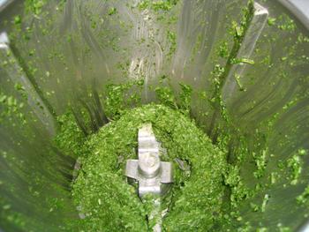 Spirelli met boerenkoolpesto in de thermomix 2
