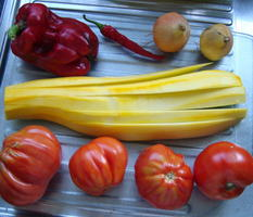 Tomatensoepje met mozzarellaparels 2