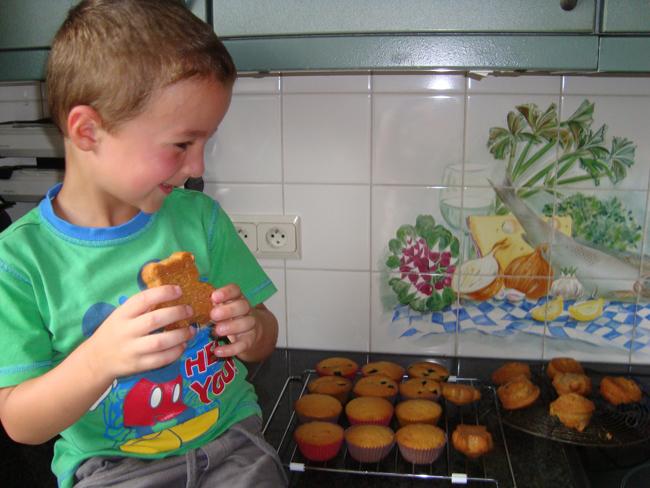 Een deeg, drie soorten cupcakes 1