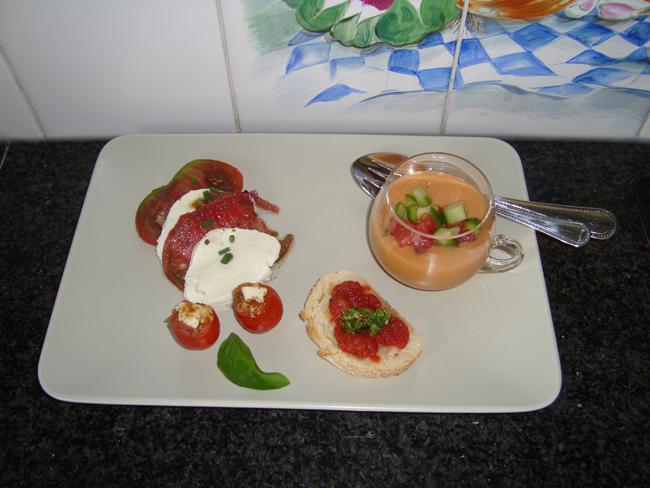 Gazpacho of koude tomaten-komkommersoep 1