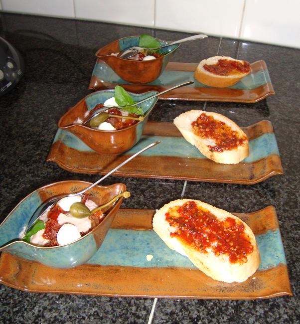 Hammousse met mozzarella 1