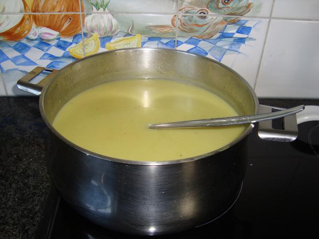 Witte koolsoep met kerrie 1