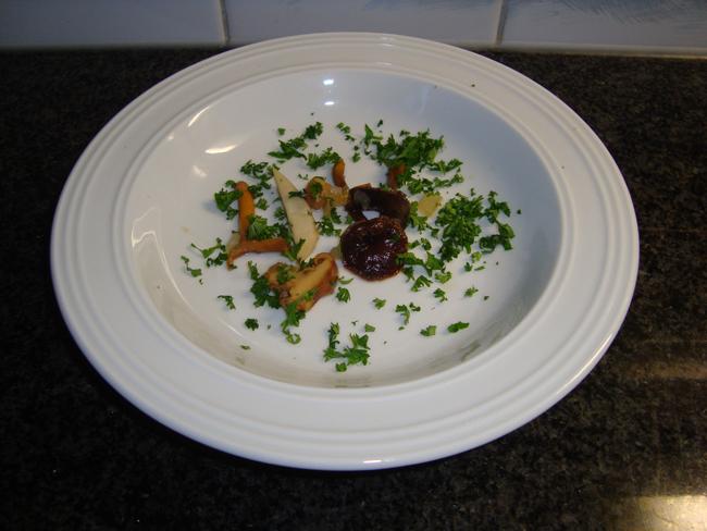 Romige bospaddenstoelensoep 1