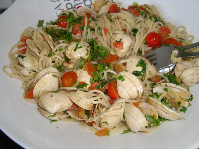 Spaghetti a la vongole 1