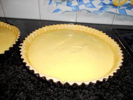 Appelschijfjesvlaai met pudding en rand van crumble 5