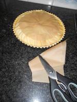 Appelschijfjesvlaai met pudding en rand van crumble 8