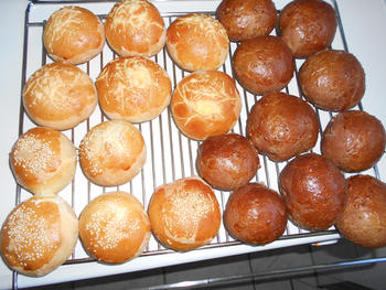 Donkere broodjes of zwarte woud broodjes 2