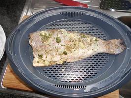 Gestoomde zalmforel in de thermomix of de oven 7