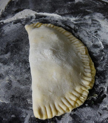Gözleme of hartige, gevulde Turkse pannenkoeken. (Ik bakte ze in de oven) 6