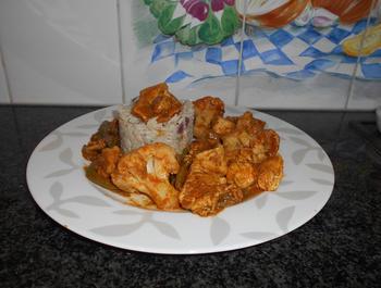 Kip met currypasta, bloemkool en prinsesboontjes 7