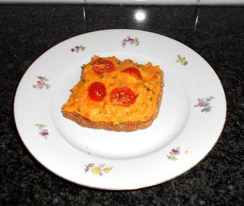 Koud boterhambeleg van wortel en paprika in de thermomix 3