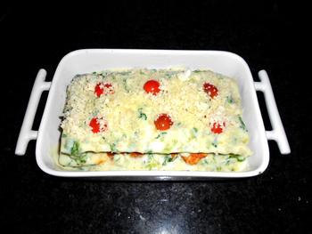 Lasagne met andijvie en kipfilet 8
