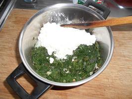 Lasagne met gerookte zalm en spinazie met ricotta 2
