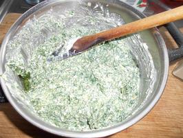 Lasagne met gerookte zalm en spinazie met ricotta 3