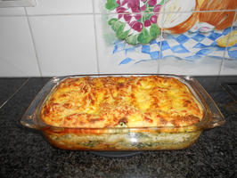 Lasagne met gerookte zalm en spinazie met ricotta 8