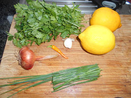 Lasagne met spinazie en scampi 2