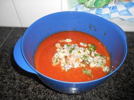 Lasagne met spinazie en scampi 4