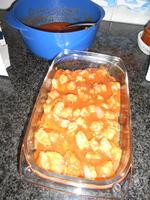 Lasagne met spinazie en scampi 7