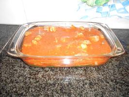 Lasagne met spinazie en scampi 9