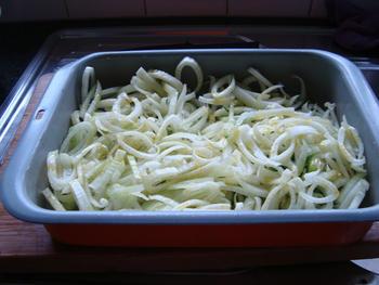 Pasta met venkel, witloof, kaas en noten 3