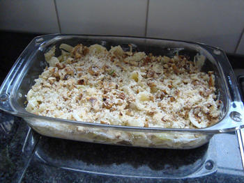 Pasta met venkel, witloof, kaas en noten 10
