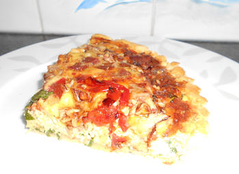Quiche met savooikool 10