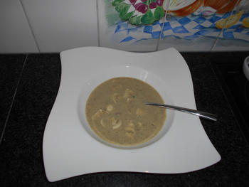 Romige champignonsoep zonder room 3