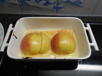 Varkenslever met ui en appel 7