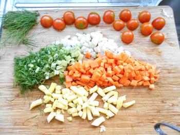Vegetarische risotto 2