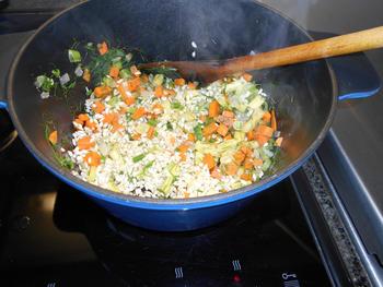 Vegetarische risotto 3
