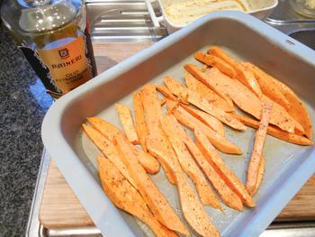 Zoete aardappelen: bataat in de oven gebakken 3